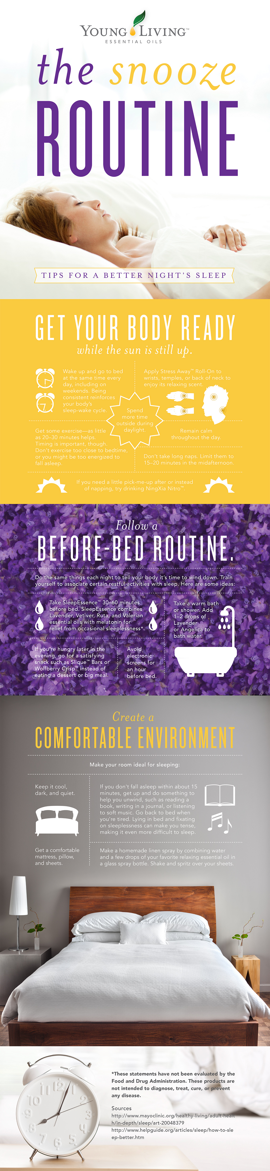 Get a better night's sleep for Yu