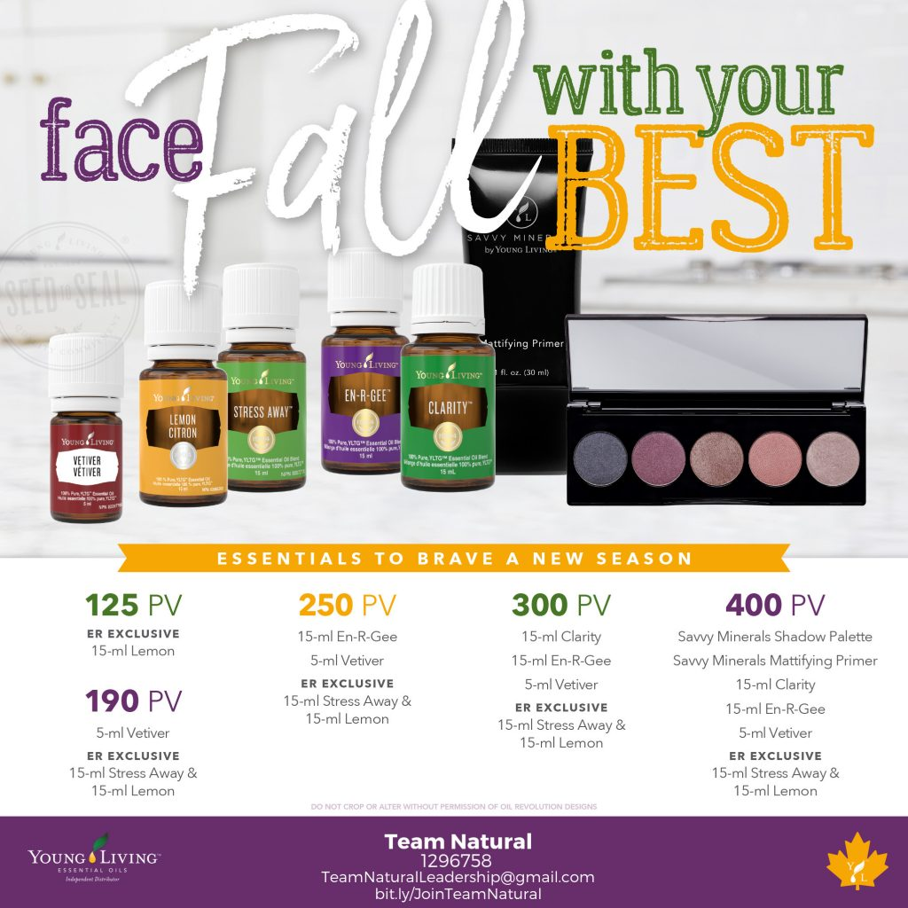 young living canada september monthly promotions